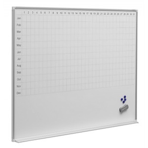 Year Planner White Boards